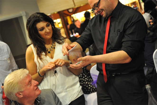 Promo Close Up Magician Craig Magician Staffordshire