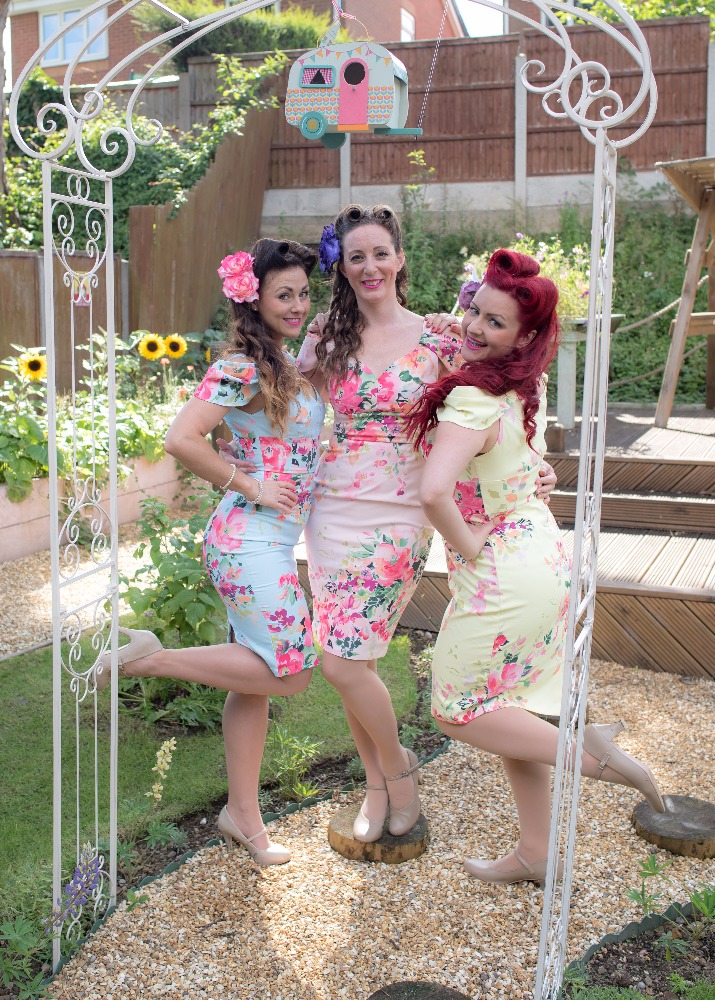 Promo The Lily Belles  Derbyshire