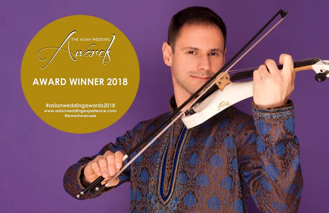 Promo Damian Electric Violinist Solo Wedding Violinist Greater Manchester