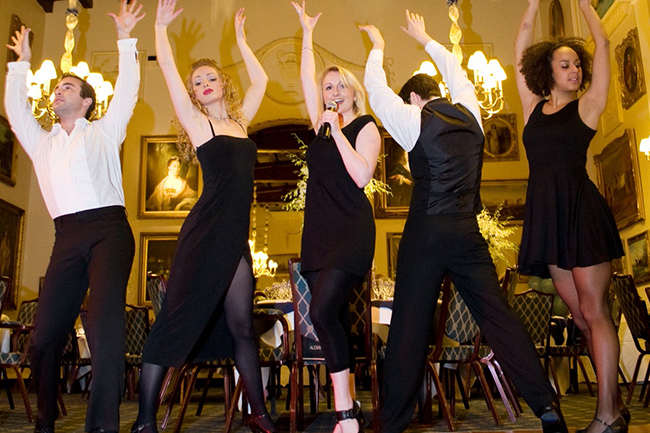 Promo Dancing Waiters Dancing Waiters Surrey