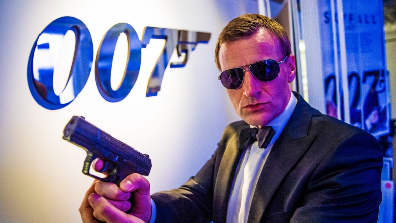 Promo Daniel Craig (Steve Wright) Lookalike Norfolk