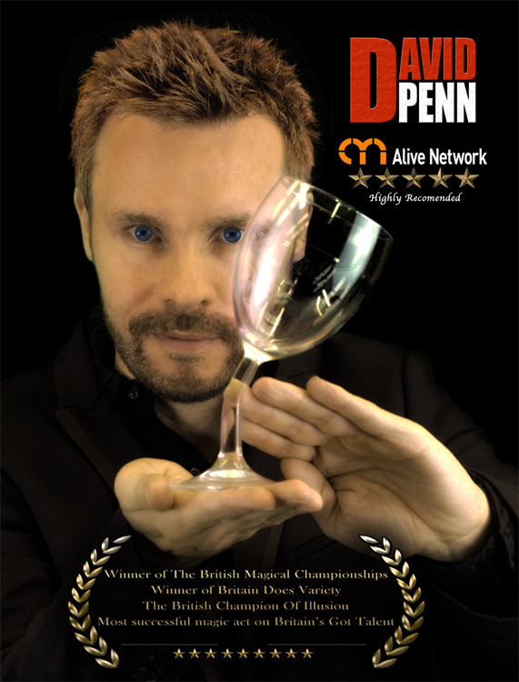 Promo David Penn Magician London