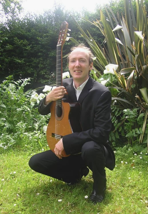 Promo Dennis OKelly Classical Guitarist Cornwall