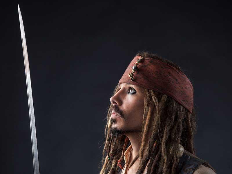Promo Captain Jack Sparrow Lookalike  West Sussex
