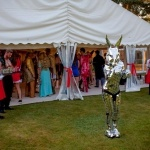 Promo Robo Bunny Mix and Mingle Entertainer Staffordshire