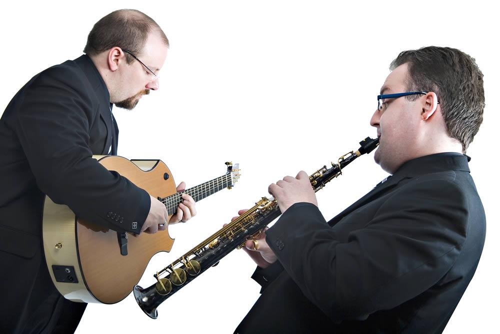 Promo Double Time Jazz Duo Warwickshire