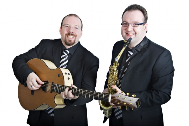 Promo Double Time Jazz Duo Warwickshire