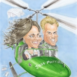 Promo Drop Dead Caricatures  Essex