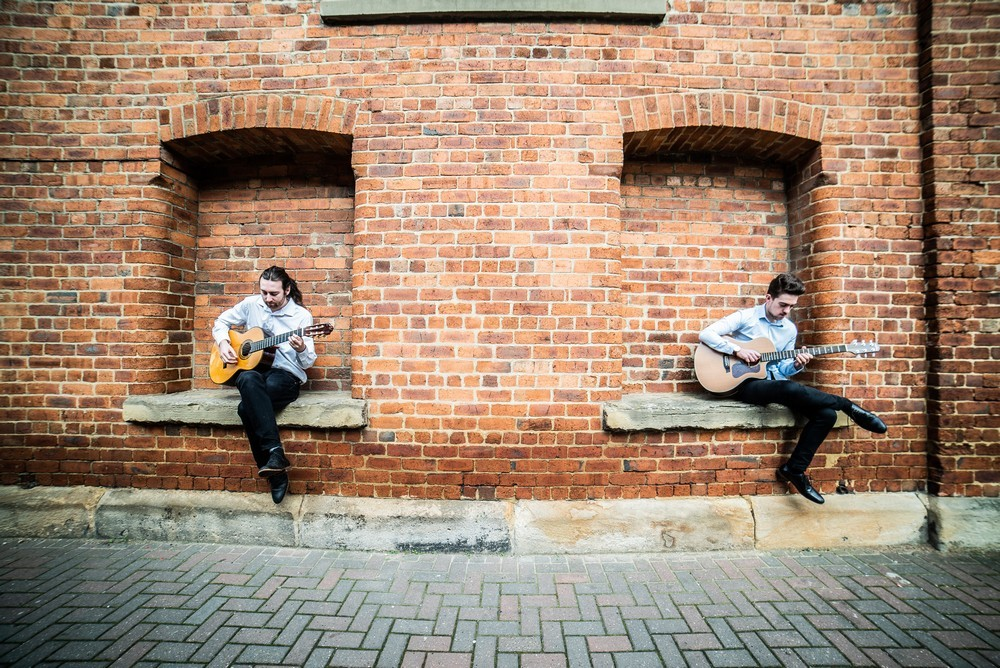 Promo Nylon and Steel Instrumental Acoustic Guitar Duo West Yorkshire