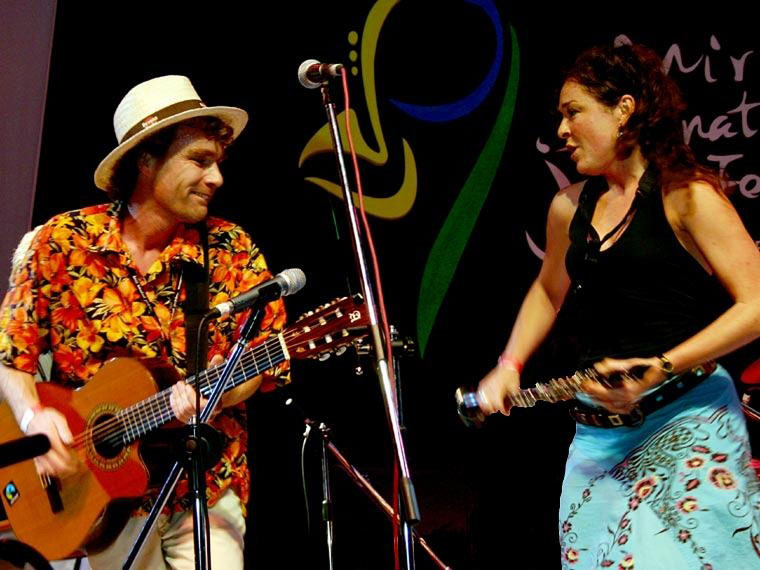 Promo Duo Monbeau French Gypsy Jazz Duo East Yorkshire