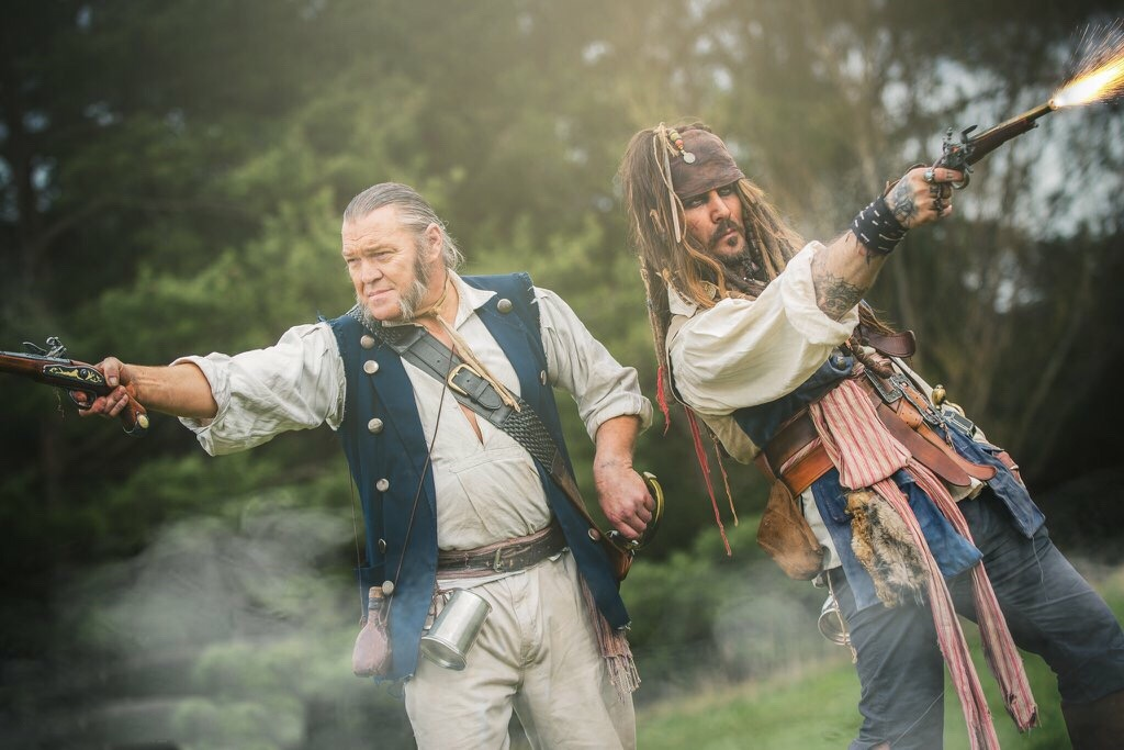 Promo Captain Jack and Gibbs Lookalike North Yorkshire