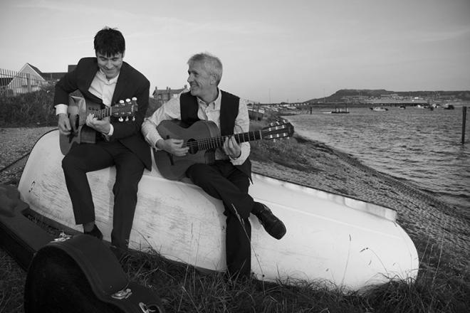 Promo 1964 Jazz Guitar Duo Dorset