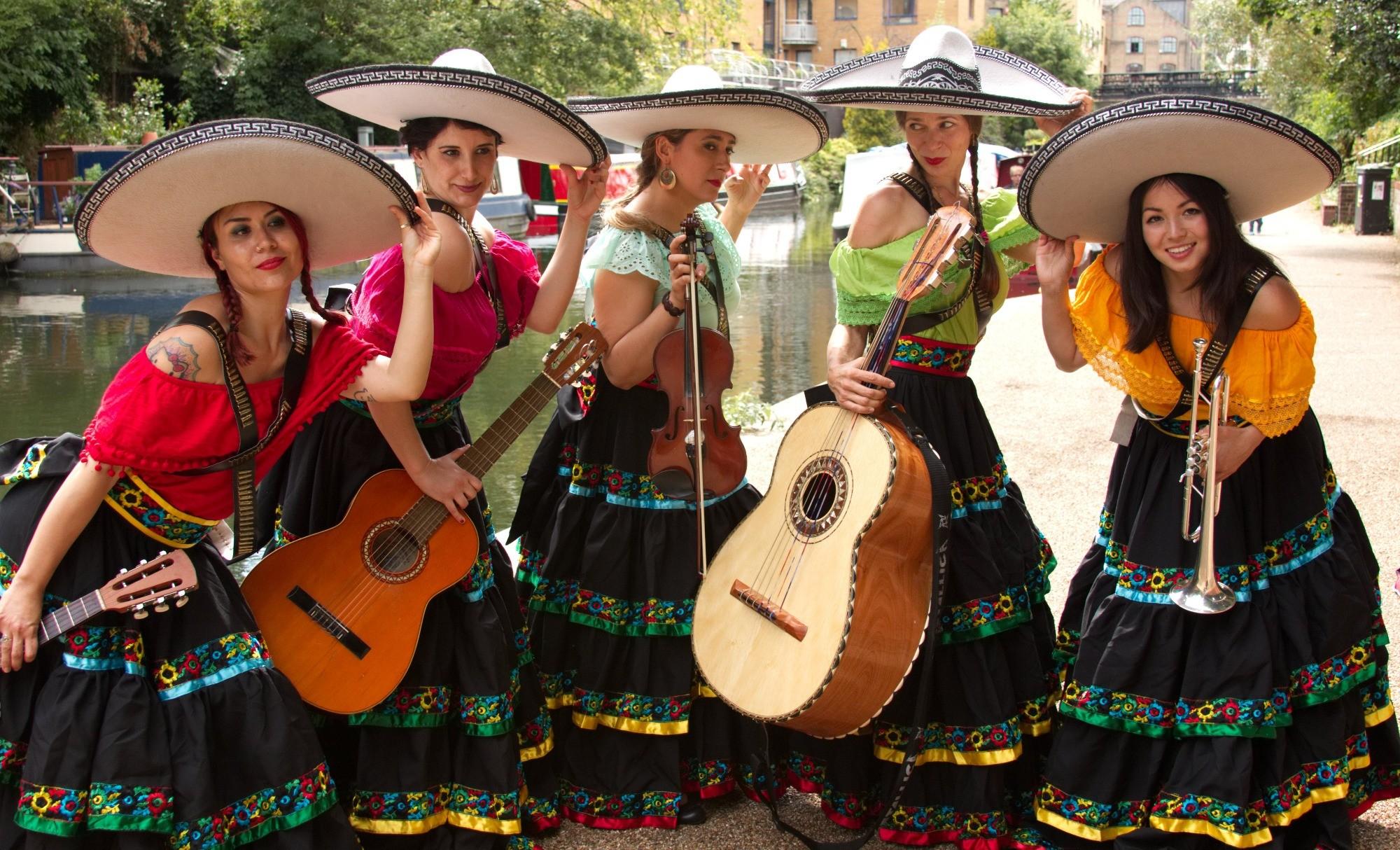 Promo Mariachi Las Marietas Mariachi Band London