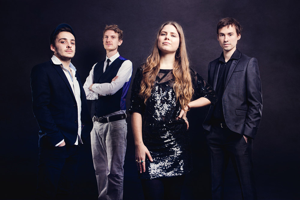 Promo Evelyn and The Vipers Unique versions of Pop, Soul and Jazz Songs Bristol