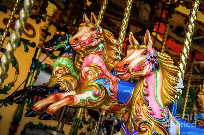 Promo Fairground Carousel Carousel London