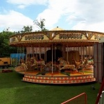 Promo Fairground Carousel  London
