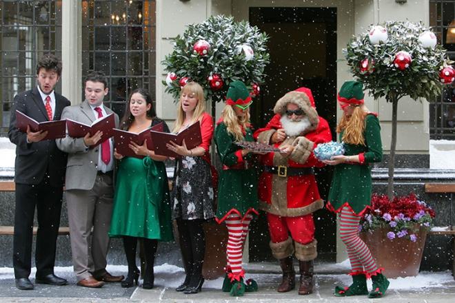 Promo Festive Carol Singers Christmas Carol Singers Hertfordshire