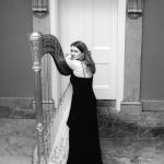 Promo Gold Harp Harpist East Sussex