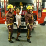 Promo Fire Fighters In Song Singing Firemen London