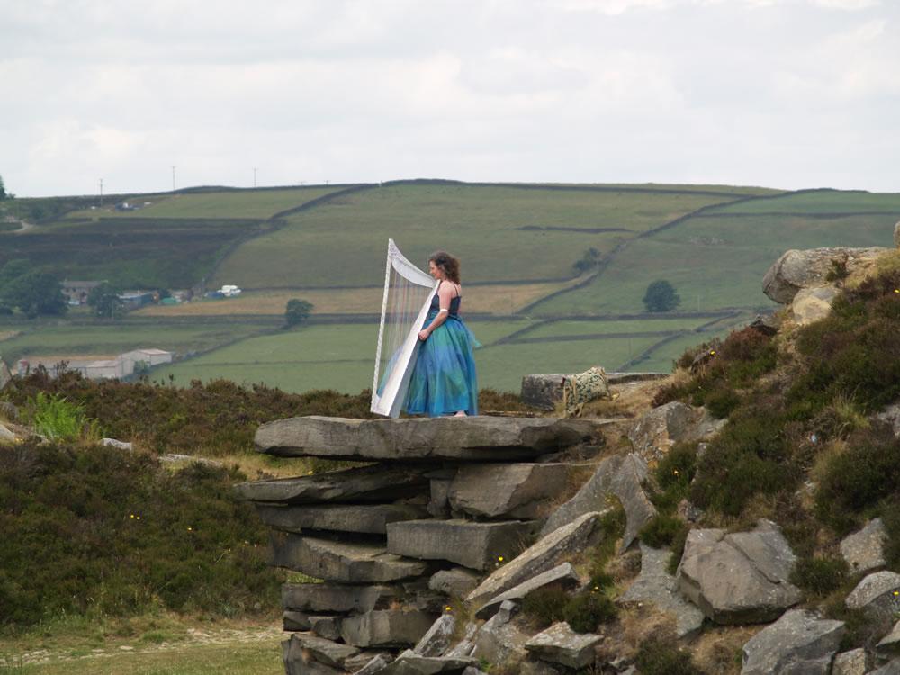 Promo FW Harp (Harpist) Harpist West Yorkshire