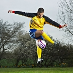 Promo Football Freestyler Circus Performer London