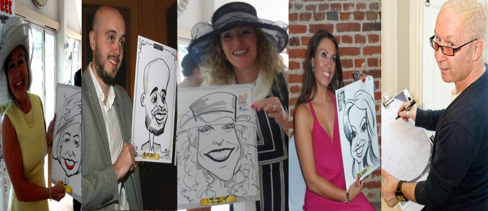 Promo The Caricaturetainer Caricaturist Berkshire