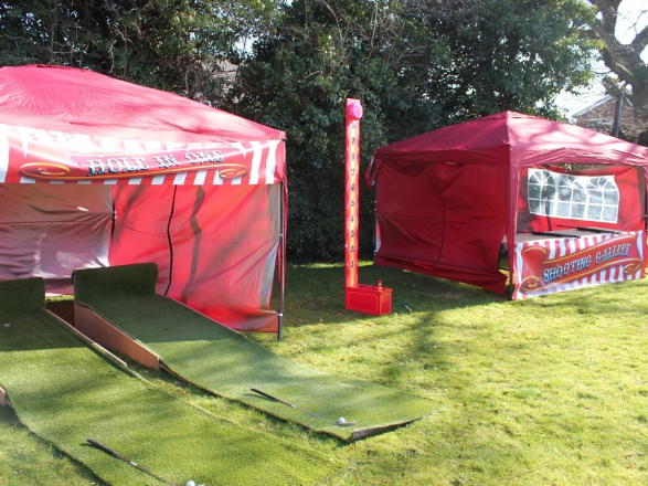 Promo Fun Carnival Games Funfair Stall Wrexham