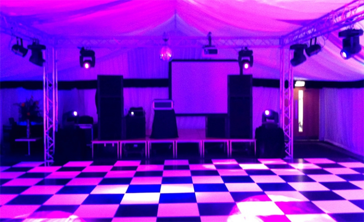 Promo FX Laser Roadshow Wedding DJ Worcestershire