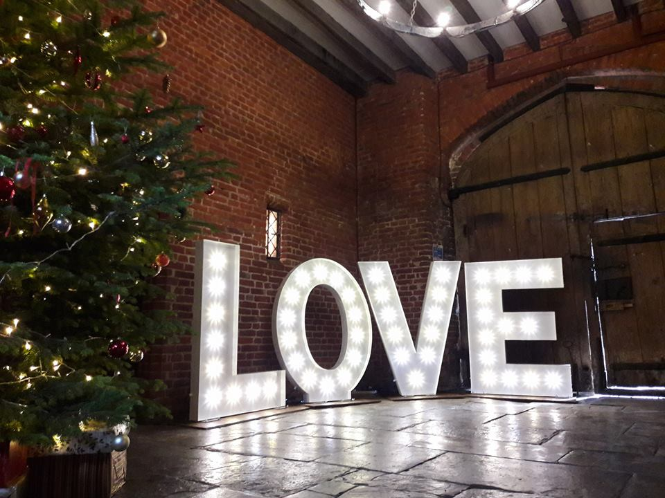 Promo Let There Be Light Light Up Letters & Love Signs Essex