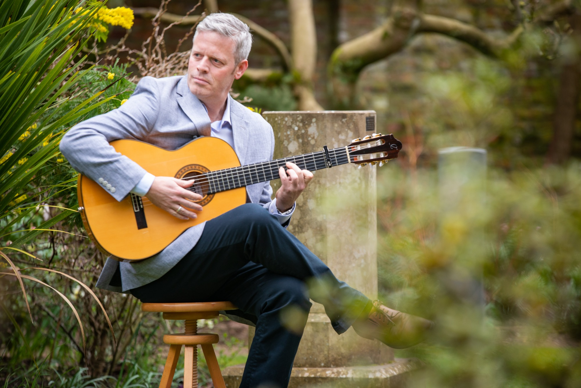 Promo Glenn Sharp Classical Guitarist Greater Manchester