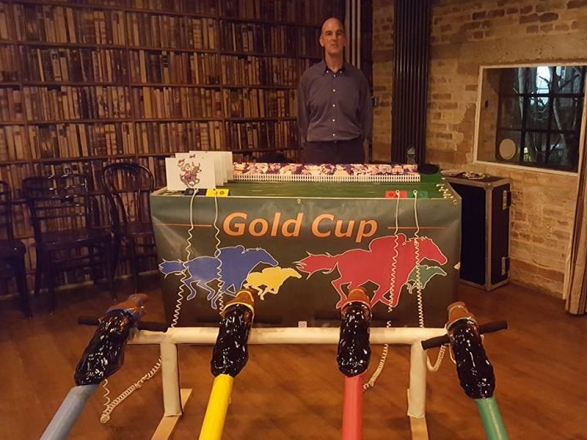 Promo Gold Cup Horse Racing Giant and Outdoor Games Cambridgeshire