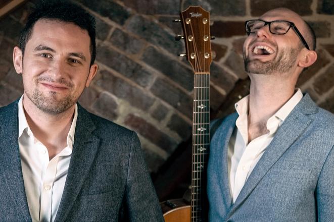 Promo Guitar Brothers Acoustic Guitar Duo Surrey