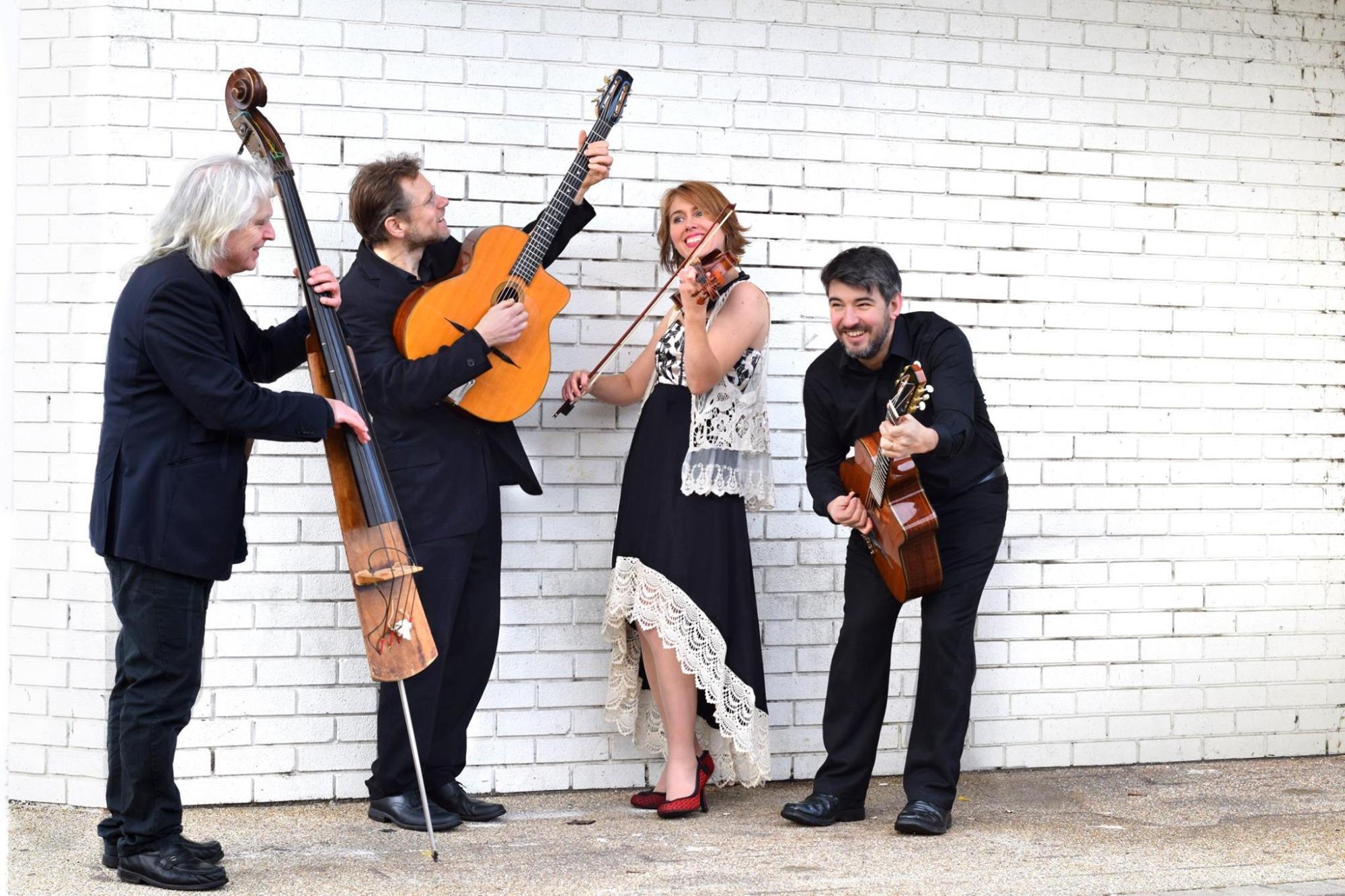 Promo Gypsy Rhythm Gypsy Jazz Band Glamorgan