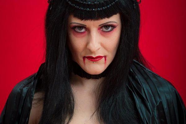 Promo Halloween Cabaret Show Circus Performer East Sussex