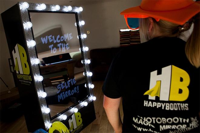 Promo Selfie Mirror Selfie Booth Kent