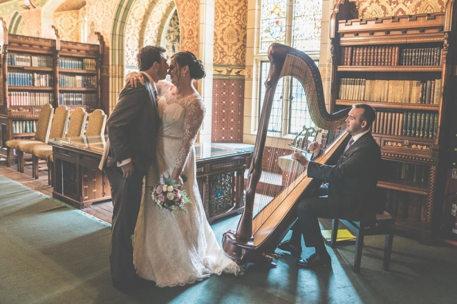 Promo Harpist Royale Harpist London