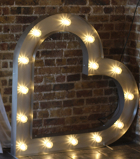 Promo Let There Be Light Light Up Letters & Love Signs Southend, Essex