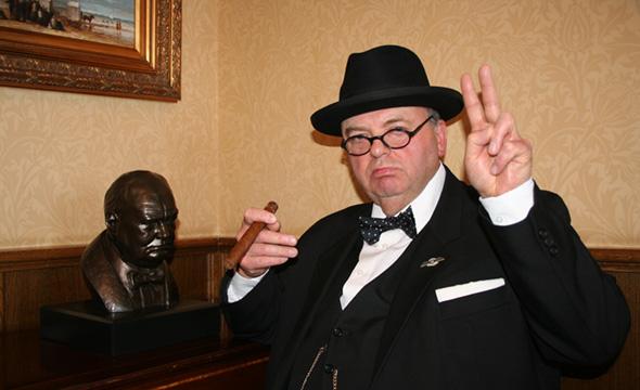 Promo Winston Churchill Lookalike Lookalike Cheshire
