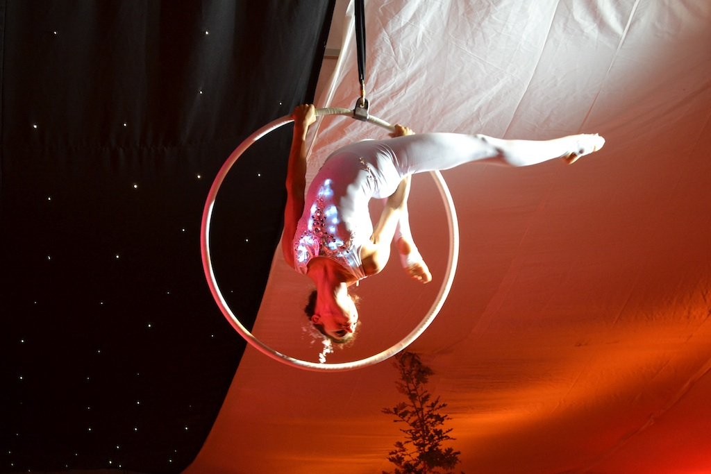 Promo Aerial Hoop Displays Circus Performer London