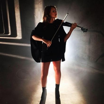 Promo Hollie Violinist Electric Violinist Hampshire