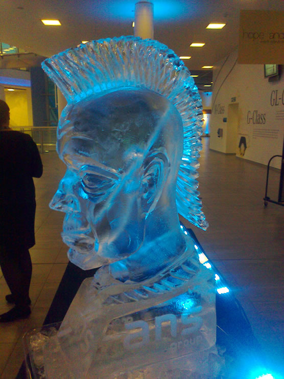 Promo Ice Sculptures Ice Bar Wiltshire