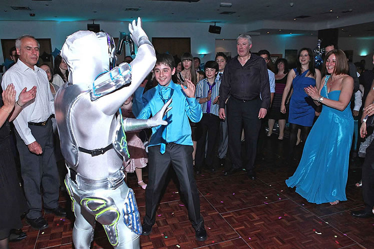 Promo Ilan the Robotic Man Dancer Greater Manchester