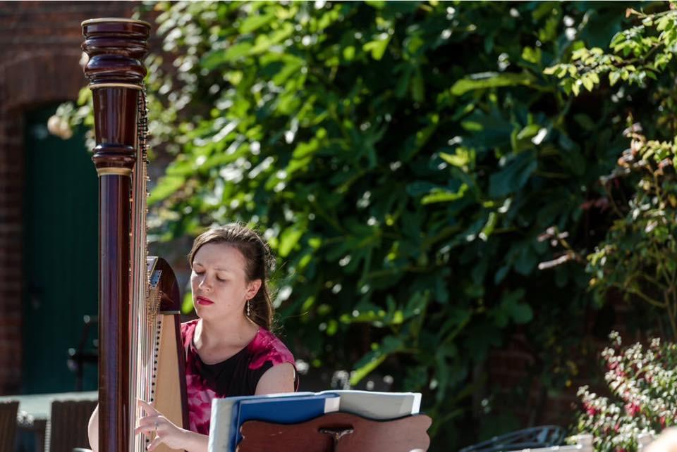 Promo Zoe Kirsten Harpist Suffolk