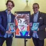 Promo Face To Face Caricaturist Duo Leicestershire