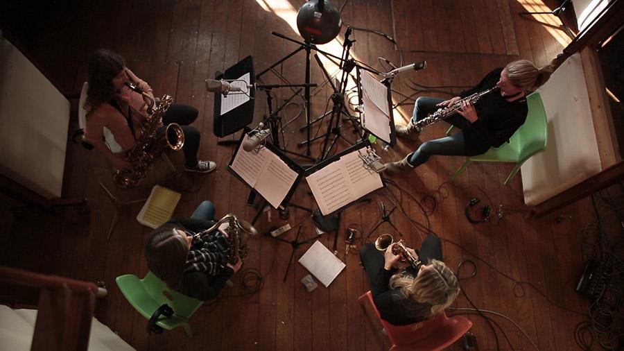 London Saxes | Saxophone Quartet London | Alive Network