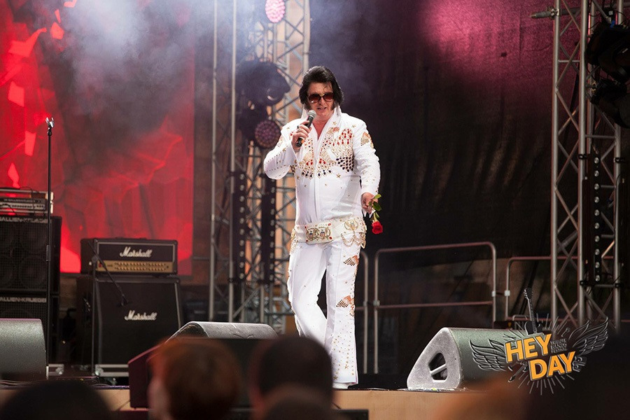 Promo (Elvis) The King  Greater Manchester