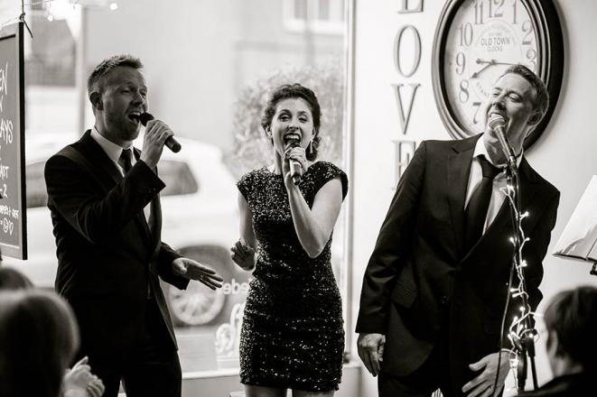 Promo West End Encore Vocal Trio Hertfordshire