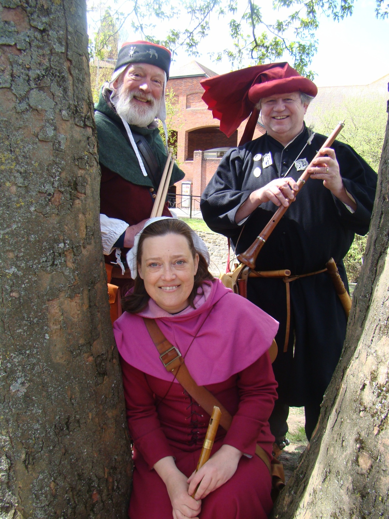 Promo Cantiga Medieval Musician Worcestershire