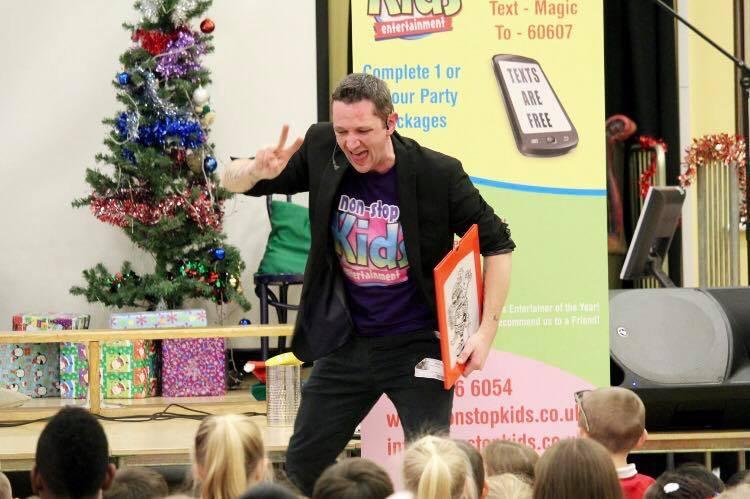 Promo Non Stop Kids Childrens Entertainer Staffordshire