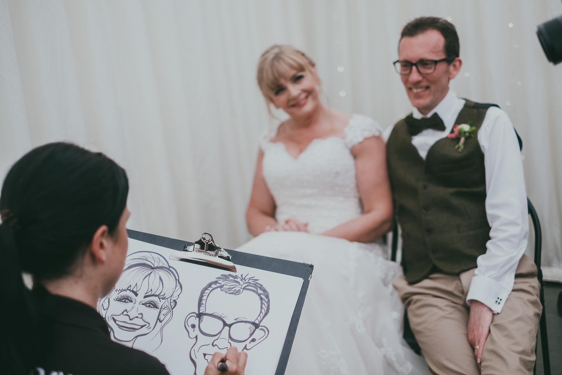 Promo South West Caricatures Caricaturist Cornwall
